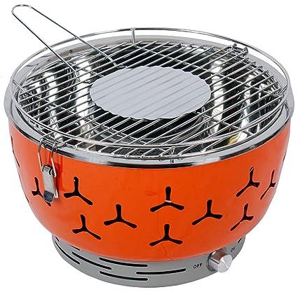 Go BBQ - ¡La mejor Parrilla Portátil de Carbón para uso familiar en Interiores y Exteriores!