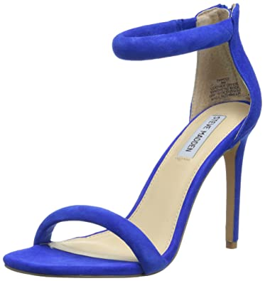 1ed6fc286f75 Steve Madden Women s Fancci Blue Suede 6 M US
