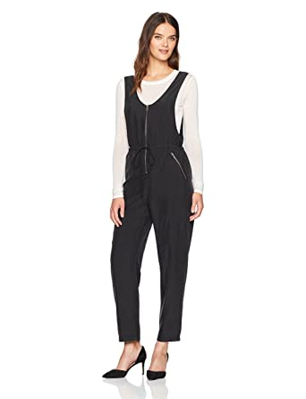995450d3ce0 Amazon.com  BCBGeneration Women s Zipper Overalls