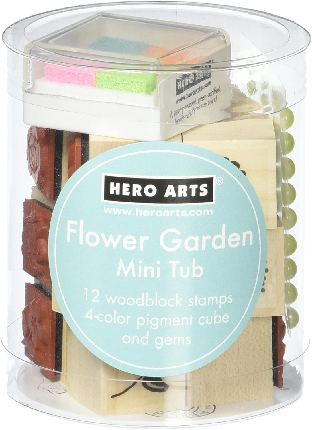 Hero Arts Flower Garden Mini Tub