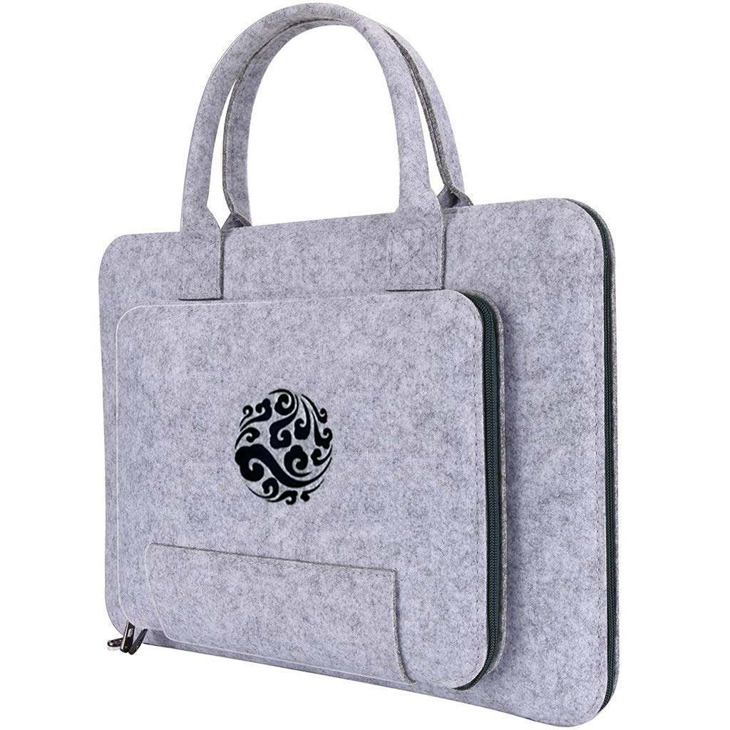 AsDlg フレッシュで美しいコンピューターバッグ ノートパソコンショルダーメッセンジャーバッグ スリングバッグ ハンドバッグ 13.3