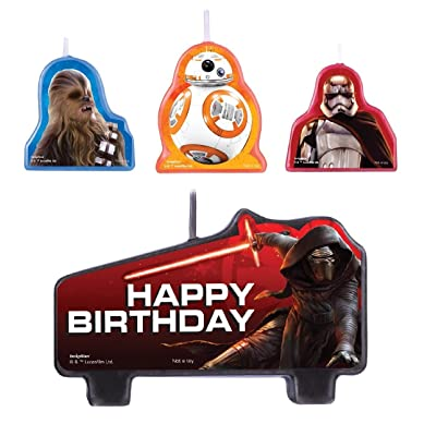 Star Wars Episode VII Birthday Candle Set: Kitchen & Dining [5Bkhe0701573]