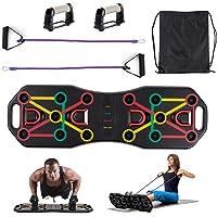 Locisne Portable Workout Push Up Board Bracket Board met weerstandsbanden, arm Buikspier Trainingssysteem Body Building…
