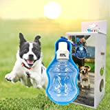 Bason Borraccia per Cani,Acqua Portatile Aqua Dog Travel Bowl,Erogatore d'Acqua Leggero Reversibile e Girevole per Cani e Gatti,250ml