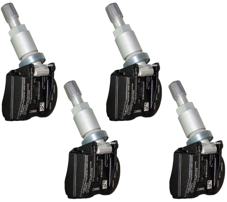 4 x Chrysler Jeep Dodge TPMS SENSOR-Druck-Reifen Ventil Stem 68078768 AA 315 MHz D2P
