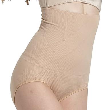 0dbf1030b6d14 INIBUD Culotte Gainante Invisible Panty Minceur Avec Armature Body Gaine  Amincissante Ventre Plat Minceur Serre Taille Panty Gainant Lingerie ...