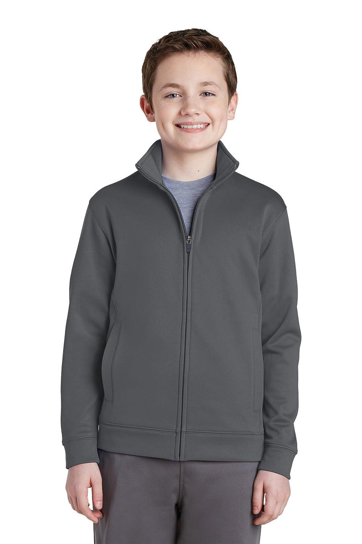 Sport-Tek Boy's Fleece Full-Zip Jacket YST241