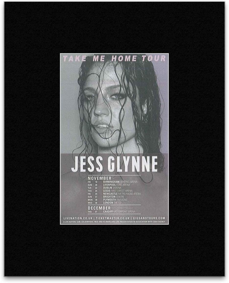 NME Jess Glynne - Take Me Home Tour 2016 Mini Poster - 25.4x20.5cm