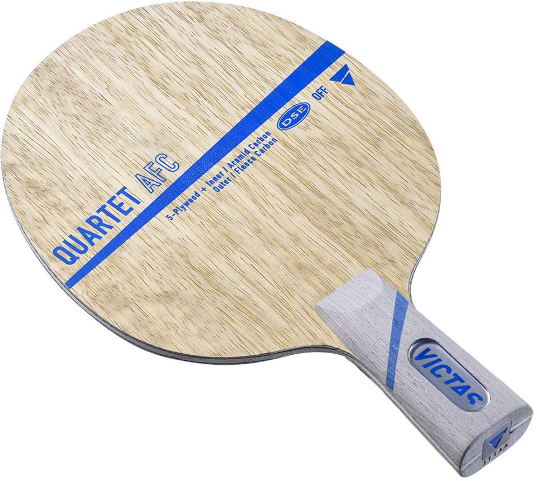ヴィクタス(VICTAS) 卓球 ラケット カルテット AFC ペンホルダー (中国式) 攻撃用 特殊素材入り 028603   B07PM9DGR9