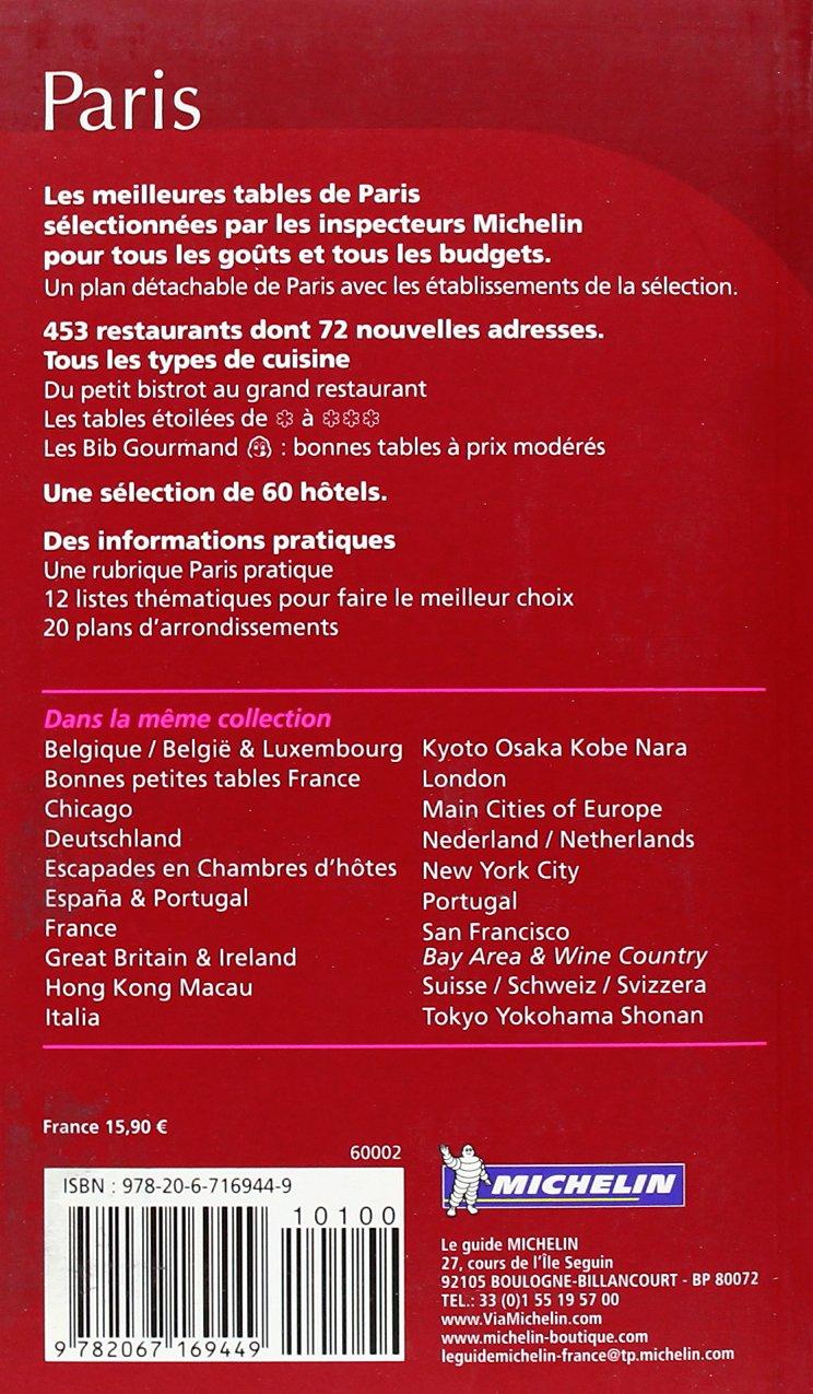 La guía MICHELIN Paris 2012 (La guida Michelin): Amazon.es: Michelin Travel & Lifestyle: Libros en idiomas extranjeros