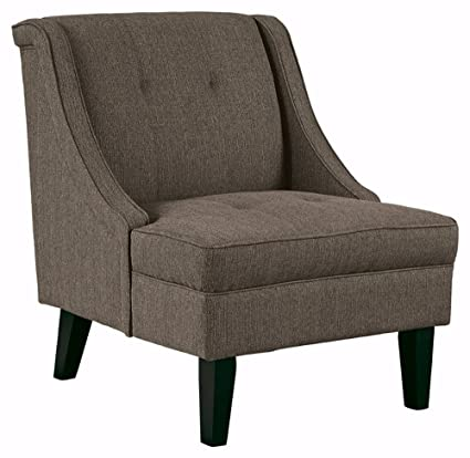 Ashley Furniture Signature Design  Clarinda Accent Chair   Wingback    Modern   Gray