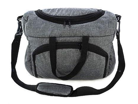 Bolso Para silla de paseo organizador Bolsa para pañales Gray gris [059]