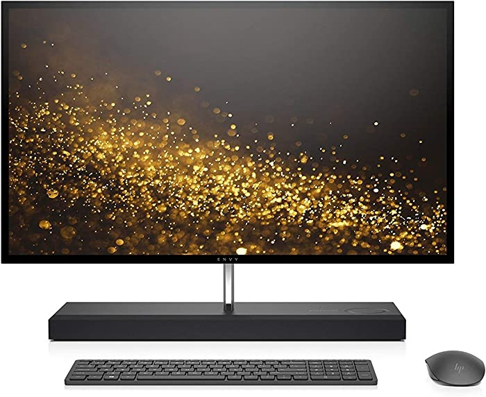 "HP Envy 27 Touch Desktop 1TB SSD 32GB RAM UHD 4K (Intel Core i7-8700T Processor Turbo 4.00GHz, 32 GB RAM, 1 TB SSD, 27"" UHD 4K Touchscreen, Win 10) PC Computer All-in-One"