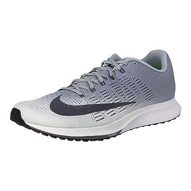 f337ddcdada Nike Women s Air Zoom Elite 9 Running Shoe White Dark Grey-Wolf Grey-