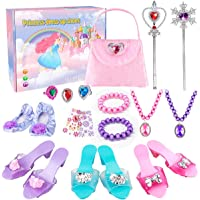 Meland Princess Dress Up Shoes - Princess Toys with My First Purse Toy Set & Jewelry Accessories - Princess Gift for…