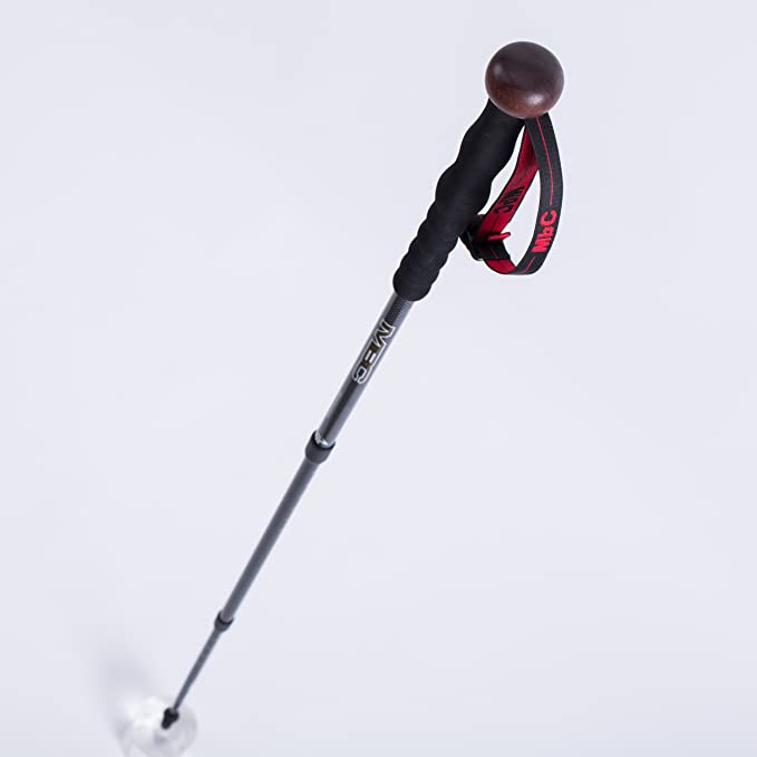 MBC CollapsibleTrekking Pole 99/% Carbon Fiber Hiking Walking Stick Professional Photography Monopod Stand for Camera and Camcorder