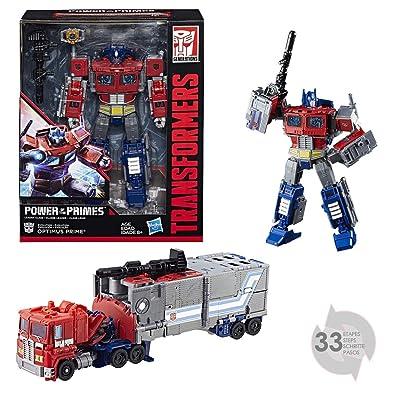 Transformers - Figura Generations Power of The Leader Optimus Prime, E1147: Juguetes y juegos