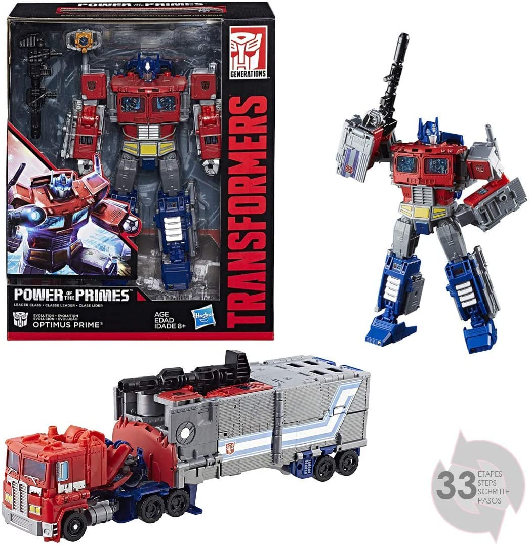 Transformers – Figura Generations Power of The Leader Optimus ...