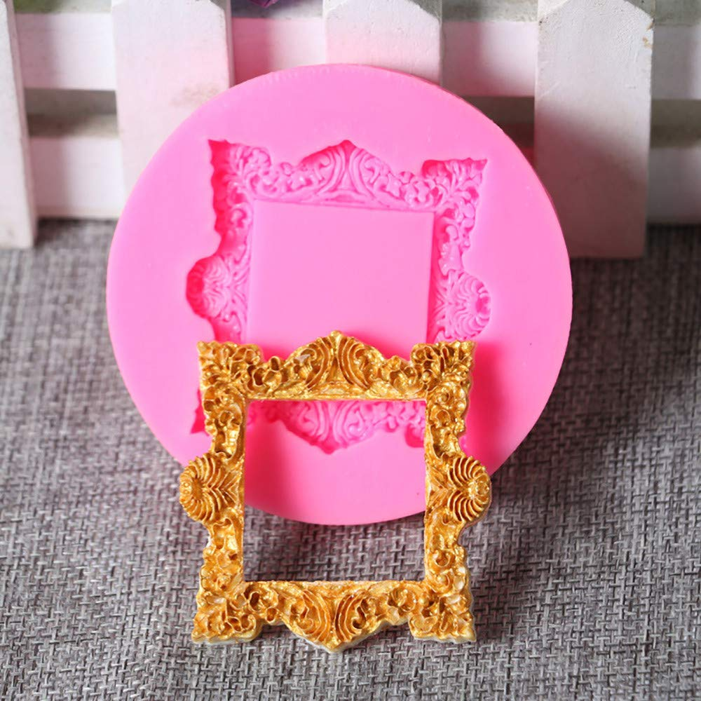 3D Silicon Cake Mold Decoratiing Kits- Chocolate,Pudding Maker by BeautyShe for Celebrating Party Birthday & Wedding