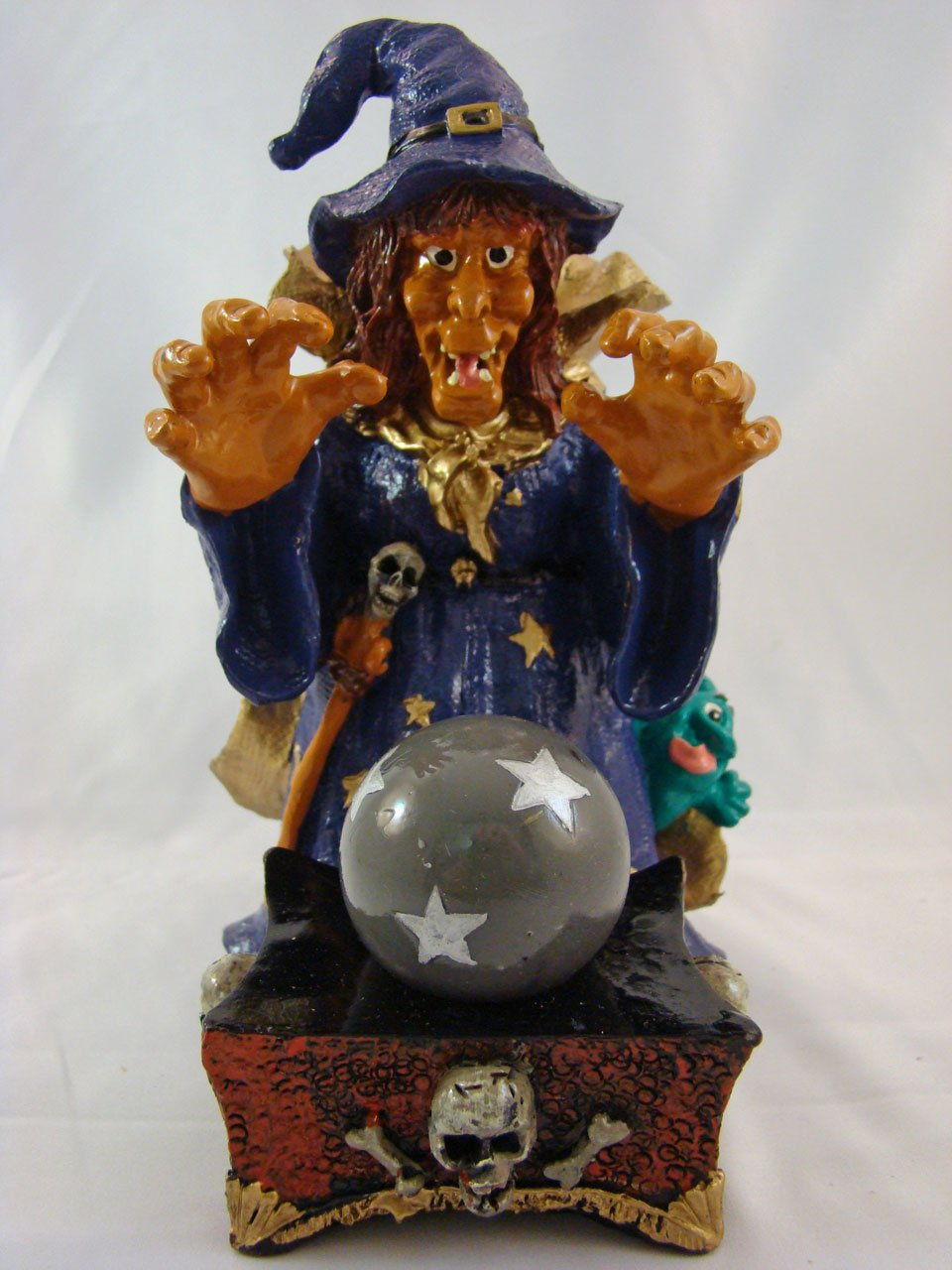 Rollin' Rocks Poly-Resin Water Powered Aquarium Ornament  Witch
