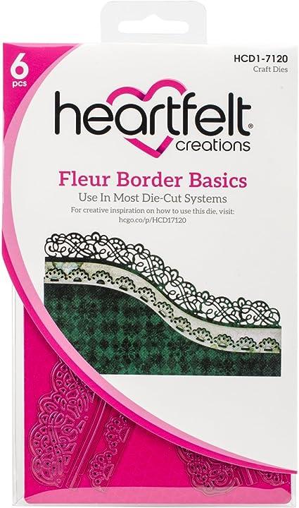 Heartfelt Creations Elegant Border Basics .5 to 7.25 Emboss Dies