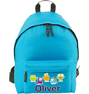 c5db020961f1 Personalised School Bag for Boy Girl Kid s Name   Design on Backpack  Rucksack