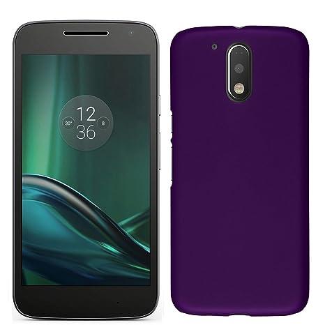 quality design f2b27 0b32c Moto G4 Play Back Cover - Purple