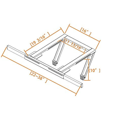Amazon Com Jeacent Ac Window Air Conditioner Support Bracket No