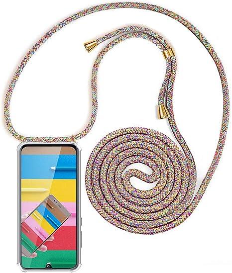 Housse pour Smartphone Lanyard Case Holder YuhooTech Collier pour Samsung Galaxy J5 2016 Coque Cover Necklace Bandouili/ère Styl/ée /étui de t/él/éphone avec Cordon Tour de Cou Lani/ère en Corde