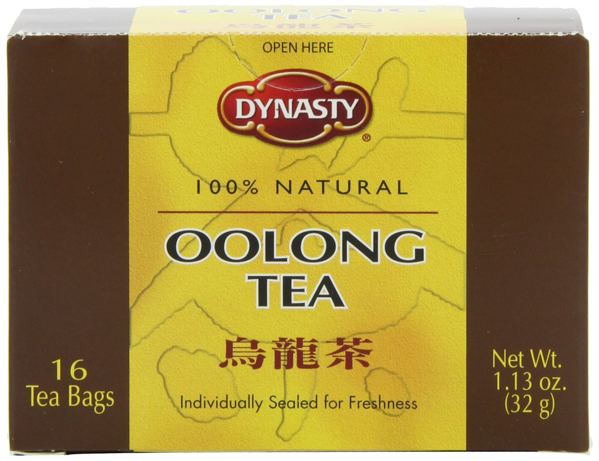 Dynasty Oolong Tea, 16-Count Packages (Pack of 12)