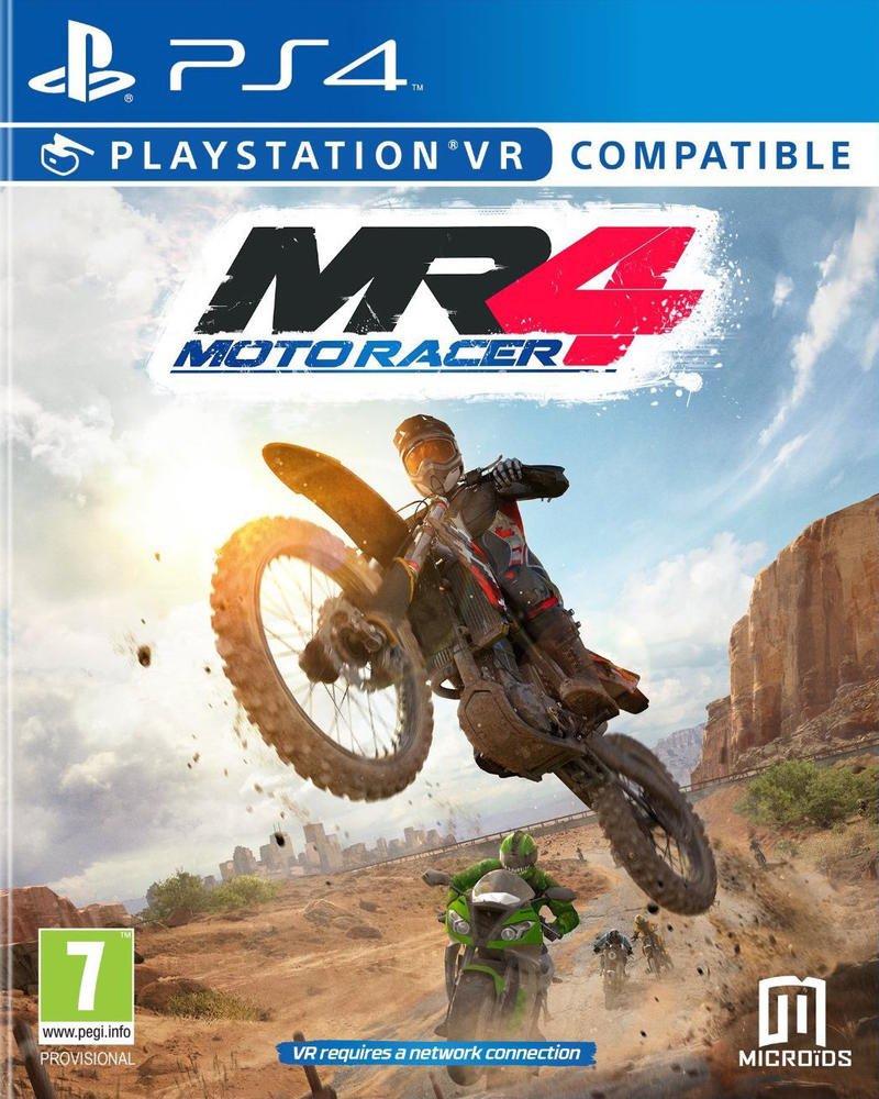 MR4 [PS4] : Moto Racer | Microïds