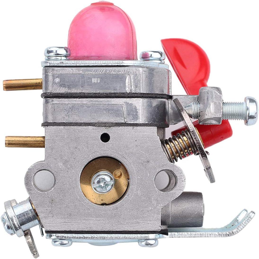 Carburetor For Poulan PP125 PP25E PP325 P4500 P4500F Fuel Line Carb