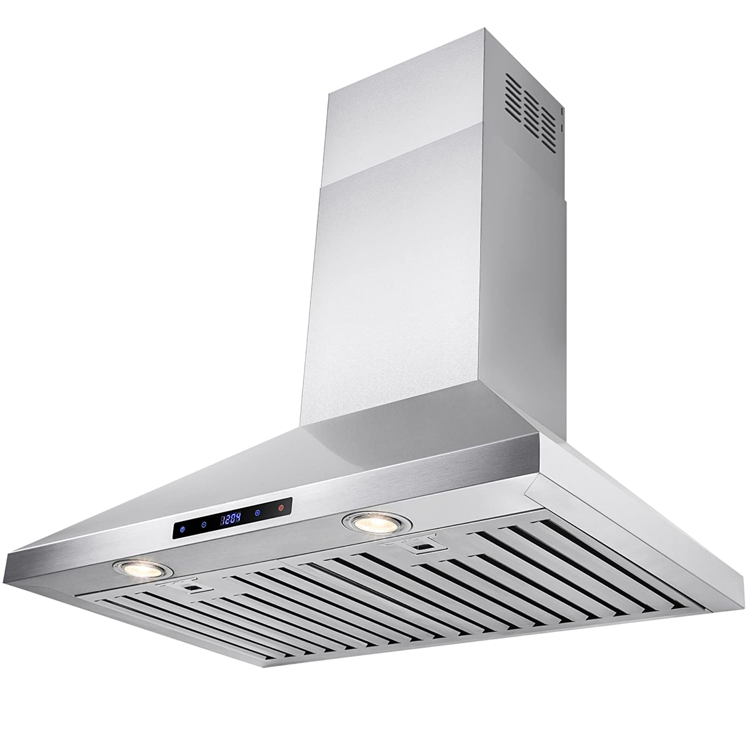 "FIREBIRD New 30"" European Style Wall Mount Stainless Steel Range Hood Vent W/Touch Sensor Control"
