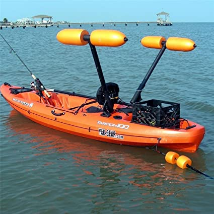 Amazon.com: Estabilizador de kayak Outrigger/canoa ...