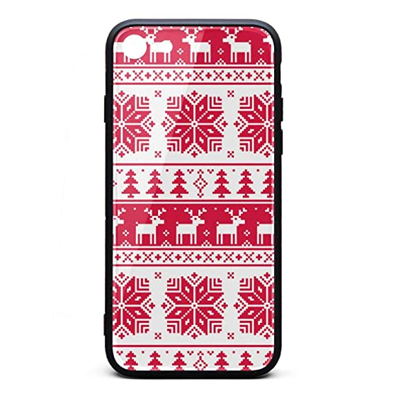 667860aa9 Image Unavailable. Image not available for. Color  Christmas Ugly Sweater  Design iPhone 7