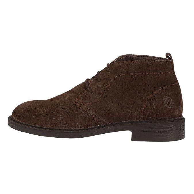 9e2d17b5 Carmela - Zapatos de Cordones de Ante para Hombre marrón marrón: Amazon.es: Zapatos  y complementos