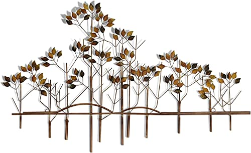 Tree of Life Metal Wall Sculpture – 39 Inches Wide x 24 Inches High Metal Wall Art