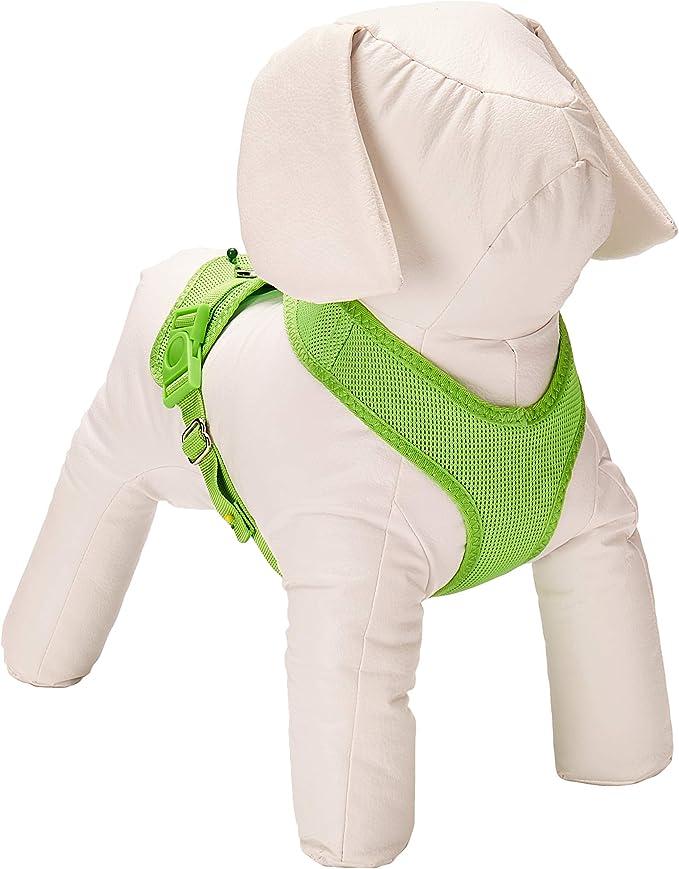 Trixie Suave Perro arnés, 33 – 50 cm x 20 mm, Verde: Amazon.es ...