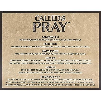 Amazon Com Dicksons Called To Pray List Of Verses Swirled