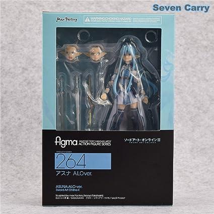 Amazon.com: Anime Sword Art Online Figma 264 Yuuki Asuna ...