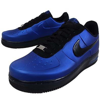 detailed look 95a3d c09ce Nike Mens Air Force 1 Foamposite Pro Low Blue Black 532461 ...
