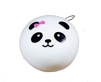 Charmslol Jumbo Panda Squishy Pink Bow