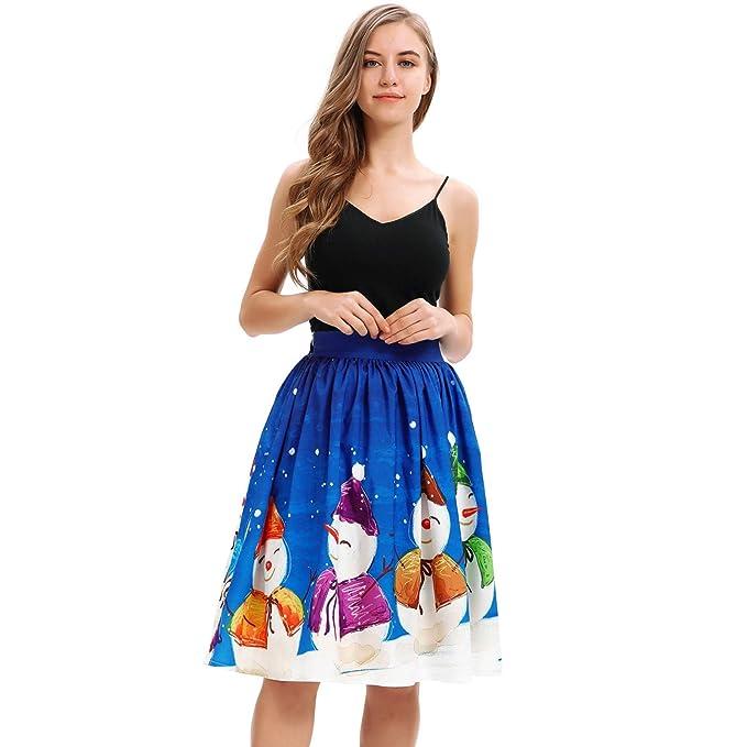 18fc51428 Vectry Faldas Falda Midi Faldas Cortas Fiesta Falda De Tul Mujer ...