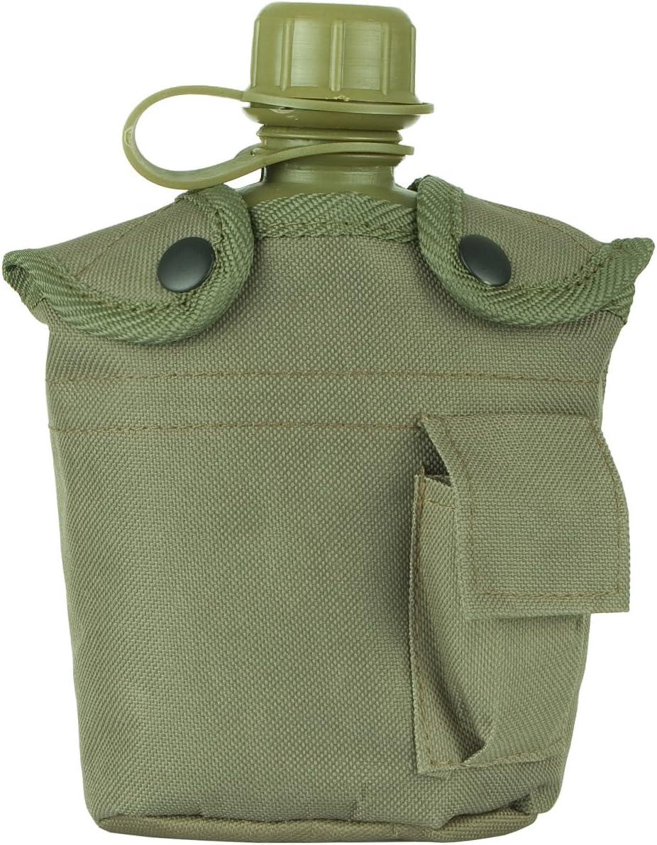 Highlander Plastic - Botella, Color Verde