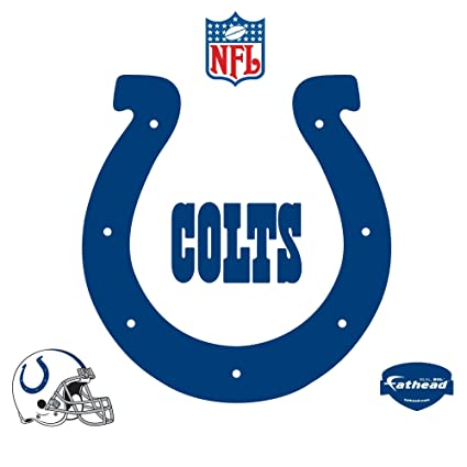 Amazon.com : FH1414016 Indianapolis Colts Logo Vinyl Wall Graphic ...