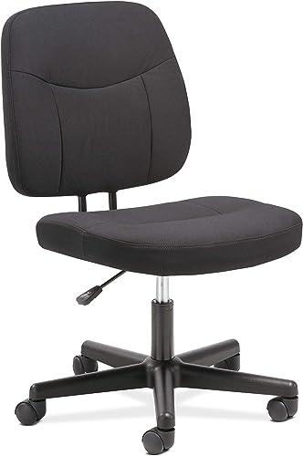 Sadie Task Chair-Computer Chair for Office Desk, Black HVST401
