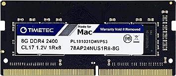 Timetec Hynix IC 32GB KIT Compatible for Apple 2017 iMac 27-inch w//Retina 5K Display 2x16GB 2x16GB 2017 iMac 21.5-inch w//Retina 4K or Non-Retina Display DDR4 2400MHz PC4-19200 CL17 SODIMM 32GB KIT
