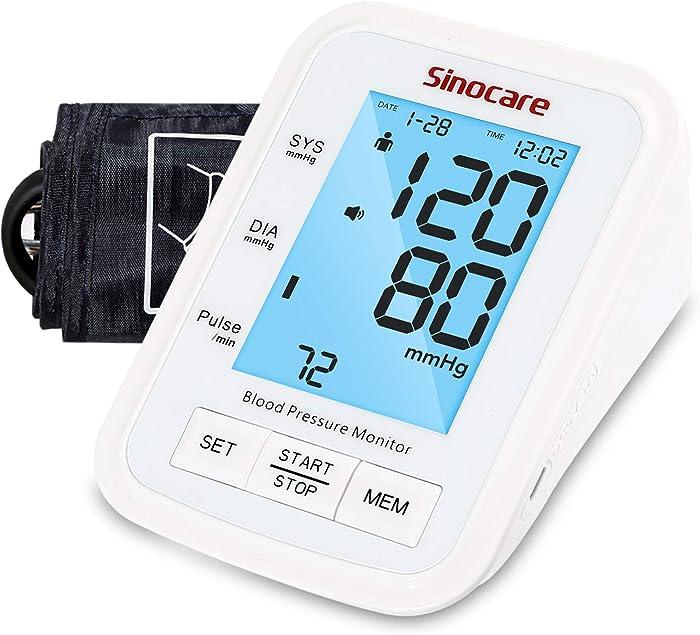 Top 10 Home Blood Pressure Cuff