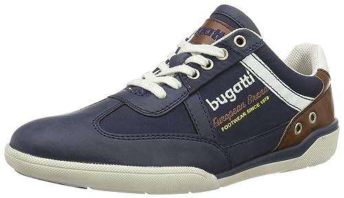 Bugatti K23046n6, Zapatillas para Hombre, Azul (Navy 423), 43 EU