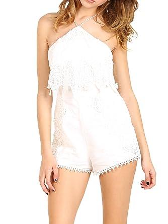 0b0f0716c52d Amazon.com  The Jetset Diaries Paradise Romper Ivory  Clothing